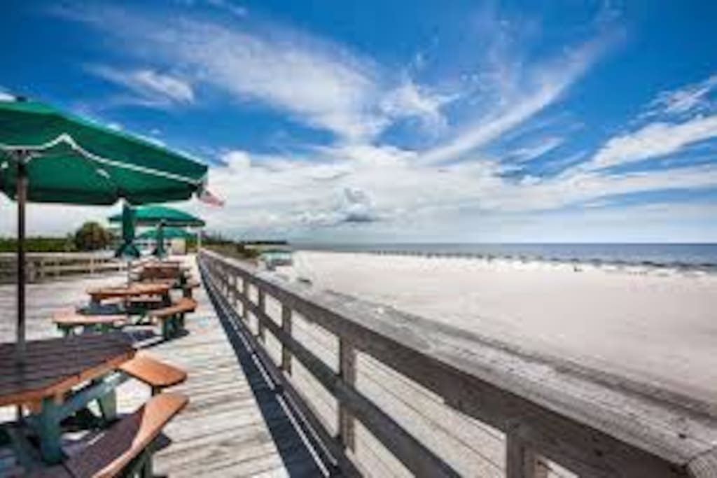 """Barefoot Beach """"voted second best beach in America"""" is just 15 to 20 minutes down the road"""