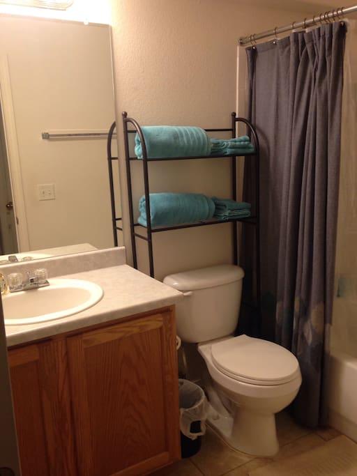 Private full bath