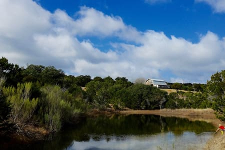 Good Morning Ranch : Farmhouse & Ponds on 10 acres - Wimberley - House