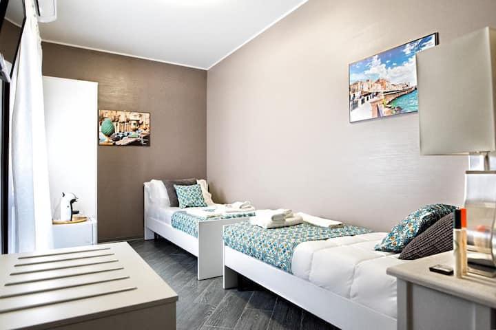 Musumeci's rooms Catania stanza doppia con singoli