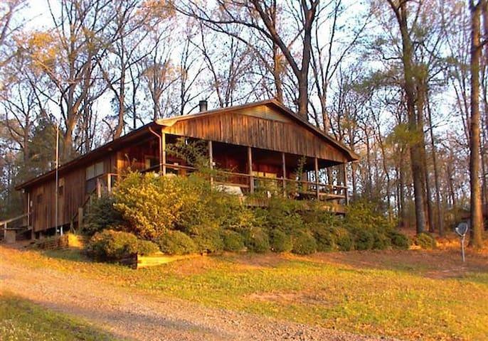 Our Cedar Cottage on beautiful Toledo Bend Lake