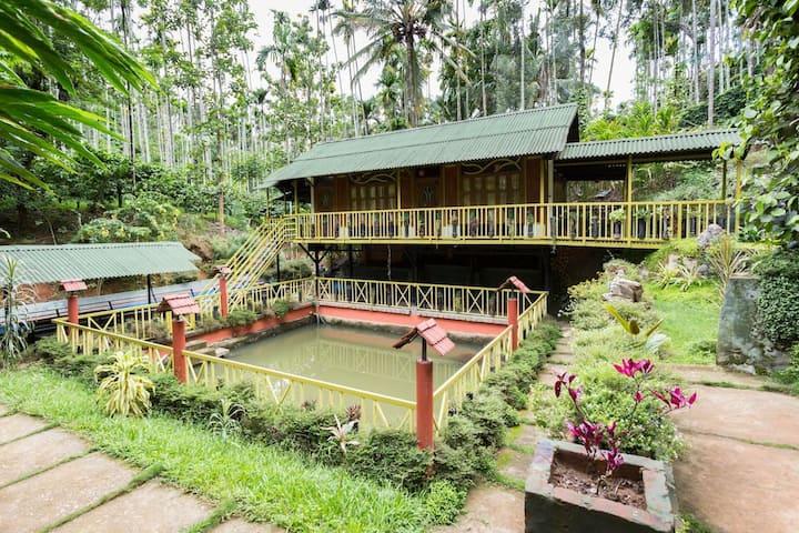 private room in a pristine plantation