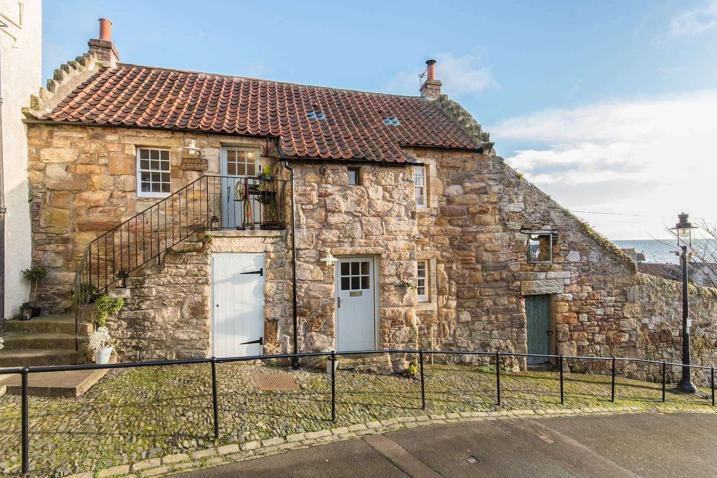 Mangle cottage, in Pittenweem, Fife .11 miles from St Andrews along the coast .