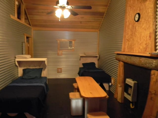 Inside of cabins