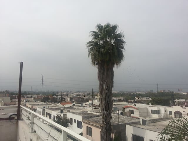 Loft moderno, terraza BBQ rooftop!  100 M2 - Guadalupe  - Apartament