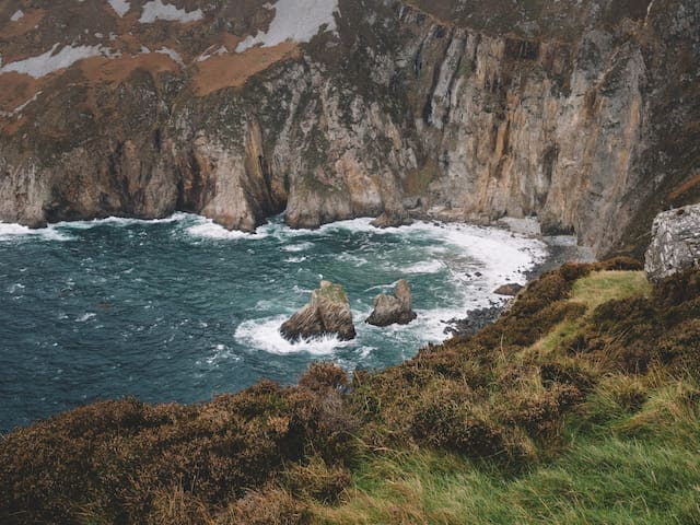 Slieve league - one of the highest sea cliffs in Europe!
