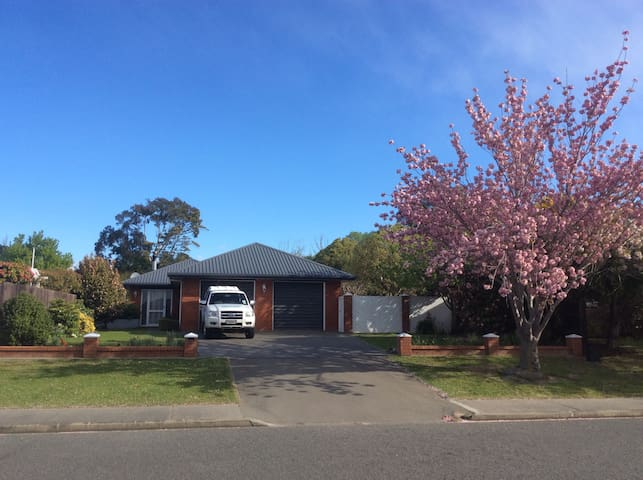 Family home in great street handy to Christchurch