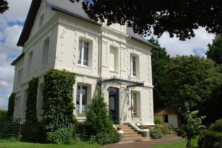 Chambre avec douche dans belle maison de maitre - Saint-Romain-de-Colbosc - Σπίτι