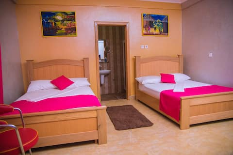 Homey Lodge - Your 2nd Home - Twin Double Room 2