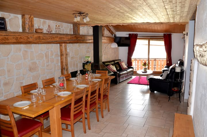 Charming apartment 12 pers, 3*, Aime-La-Plagne