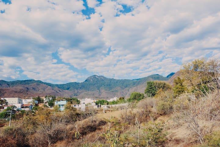 Hermoso departamento con vista a la montaña - Oaxaca - Appartement
