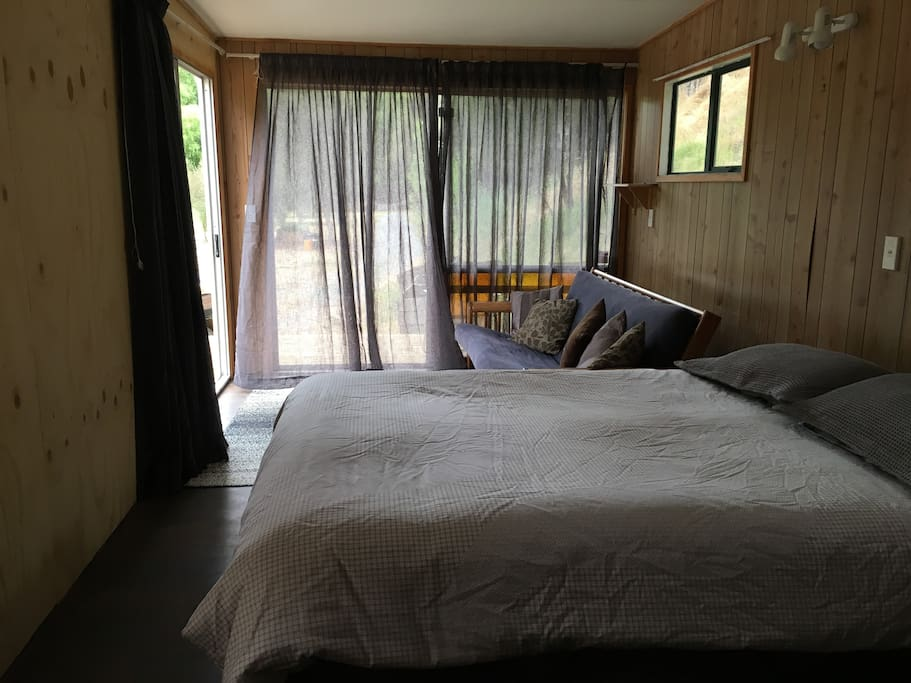 Relax and Enjoy- Glamping comforts right beside the river