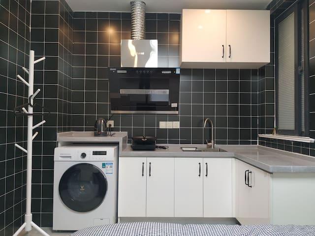 云龙万达民宿,简约清新风,品牌卫浴厨卫电器智能家居