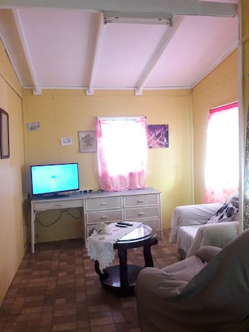 Photo of living room area