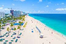 World Famous Fort Lauderdale Strip Beach, Paradise ... Walk, dine, dance, drink or relax in the sun & have fun It's your way, please stay at Angels Divine Sanctuary & feel Peaceful, Happy, Loved CONFIRM NOW, highly in demand, save your vacation dates
