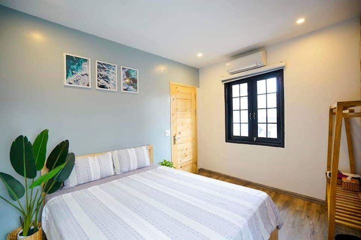 Stylish rooms in Sunworld area with pool in summer