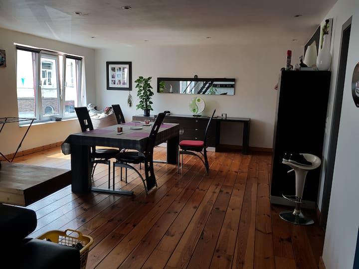 Appartement de type LOFT équipé (5 personnes)