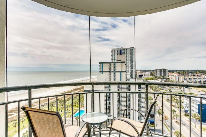 Myrtle Beach Oceanview 1BR w Balcony