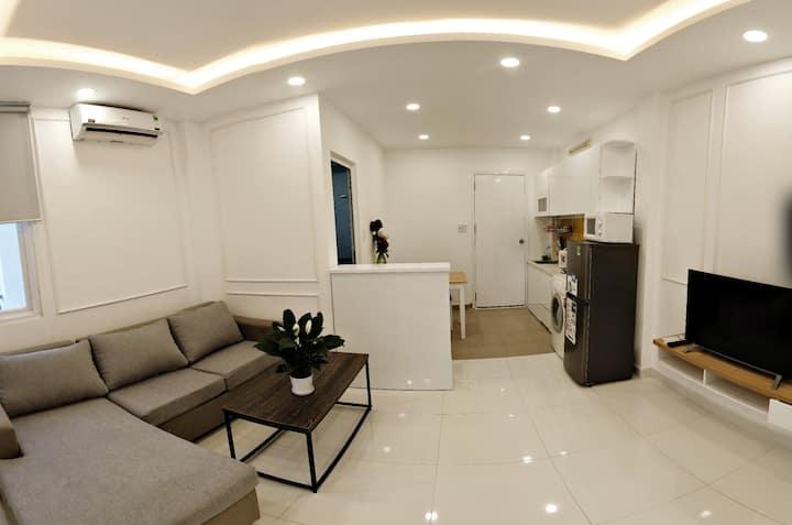 2 Bedroom Serviced Apt + Balcony (Smiley 8 $650/m)