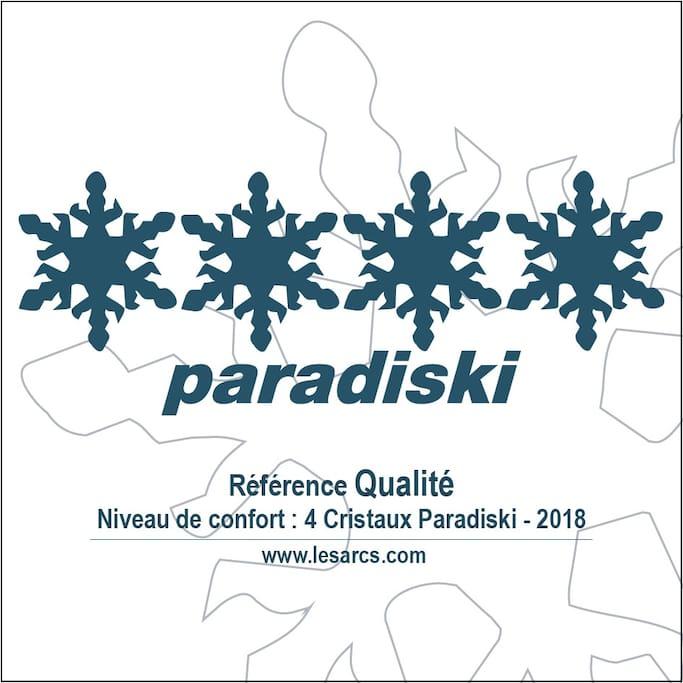Studio classé 4 cristaux Paradiski