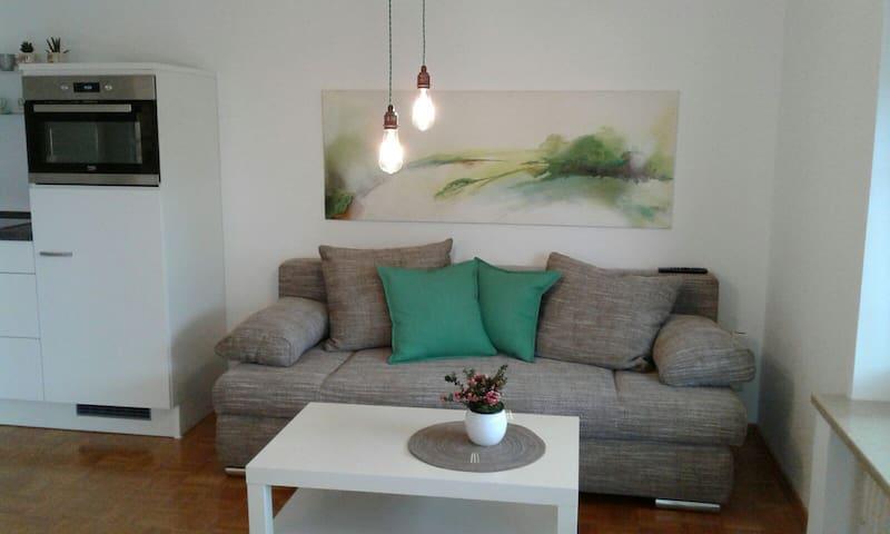 2-Zimmer Wohnung mit Wohnküche, eigener Eingang EG - Ergolding - Egen ingång