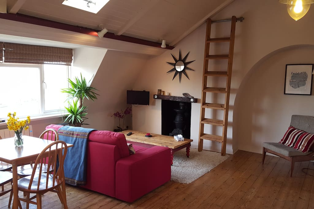 The cosy living space