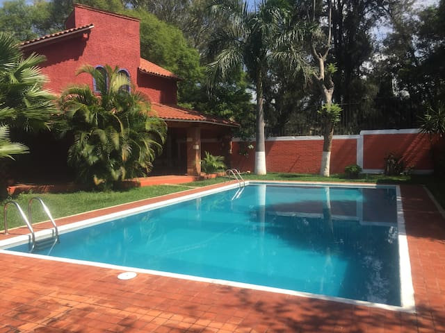 La Huerta Bungalows with pool 11