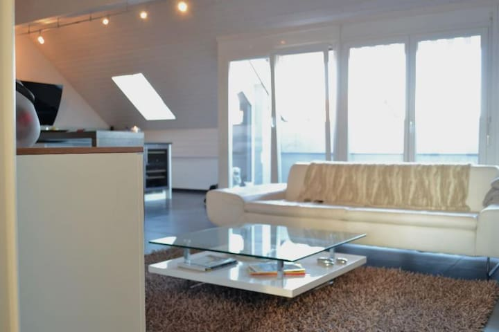Modern and cosy apartment of 145m2 - Vufflens-la-Ville - Apartemen