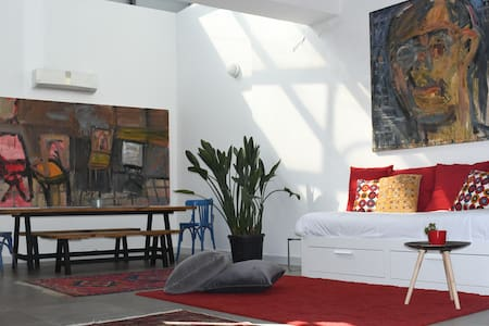 Central Amman Art-Filled Studio