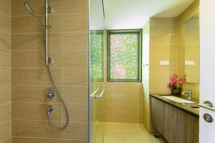 Bathroom attached to each room