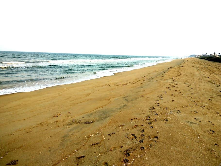 Uthandi Beach