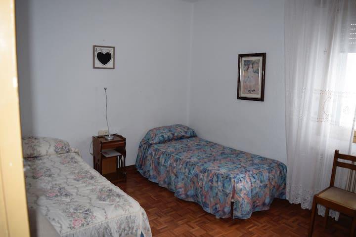 Habitación acogedora cerca a la UPNA - Pamplona - Lejlighed