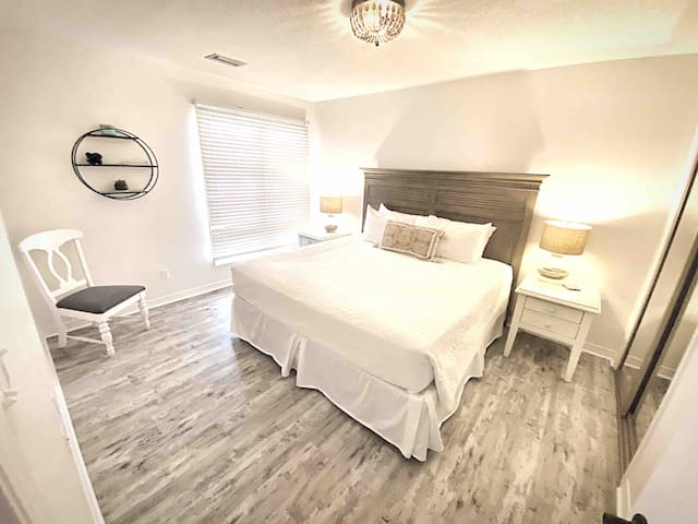 Guest Bedroom featuring Lux King Bed