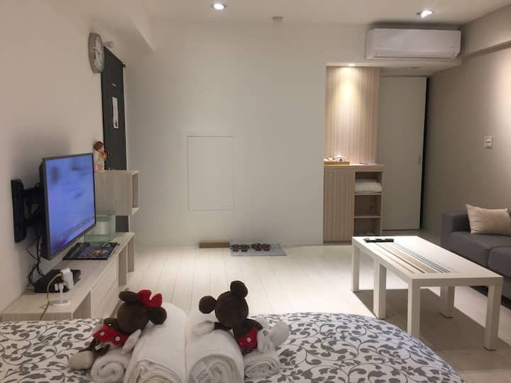 Taipei Cozy Suite  MRT 3 Min walking  Flower park