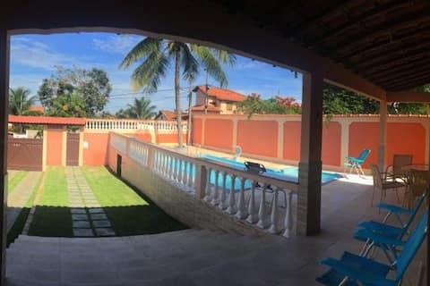 Casa de Praia com Piscina - Maricá, RJ