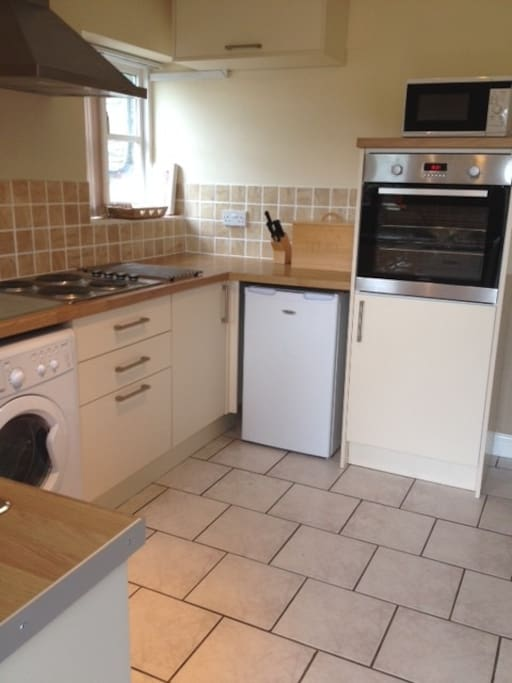 Cavasson's newly fitted kitchen