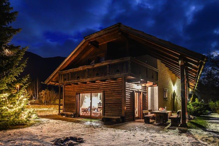 Luxury chalet Zala, garden, terace, sauna, jacuzzi