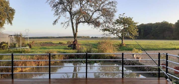Gîte entre Loire et Campagne