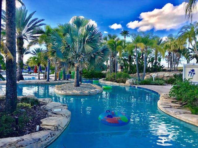 5 Star Reunion Resort Villa Water Park/Golf Access