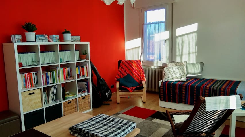 Padova: large room for one or two guests.