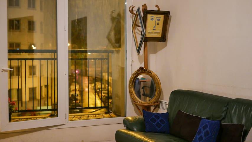 Logement comfortable à Saint- Ouen, Paris