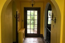 Rear hallway and entrance