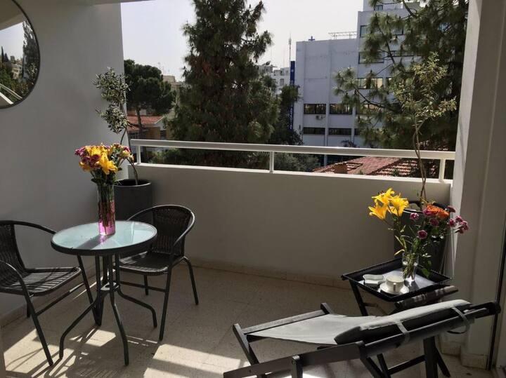 Vasilissis Amalias Nicosia 1 Bedroom Flat