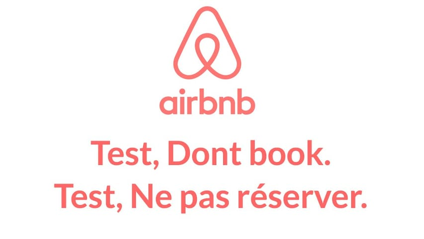 TEST AIRBNB. NE PAS RESERVER. DONT BOOK. TEST