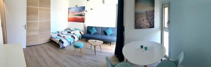Très beau studio 26 m2 centre Saint-Raphäel