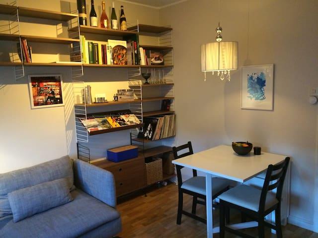 Fräsch compact-living centralt i Visby