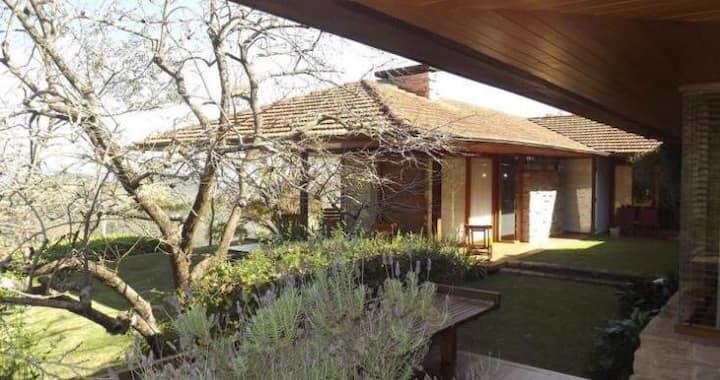 Moderna Casa de Campo na Serra - Sede Haras Polana