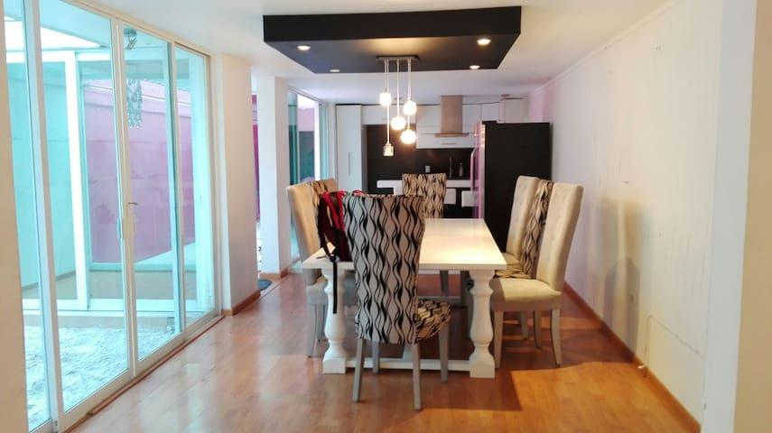 Casa moderna estilo vanguardista - León - Dom