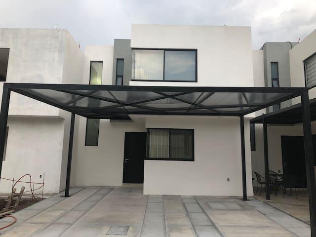 La casa moderna de la abuela