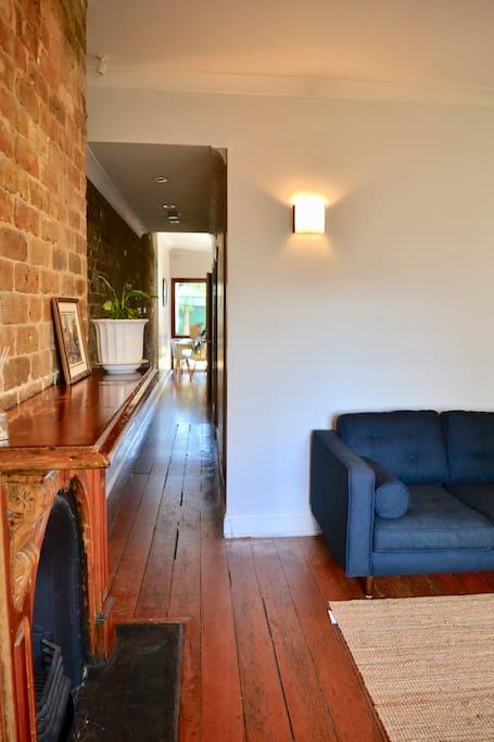 Lounge and hallway
